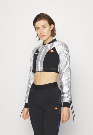 HOUGHTON CROP TRACK - Training jacket - silver