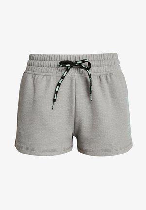 FEEL IT SHORT - Sports shorts - medium gray heather/black