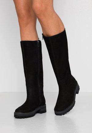 COURMAYEUR VALLEY TALL - Vysoká obuv - black