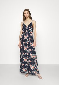 Vila - VIMESA WRAP DRESS - Maxi dress - navy blazer - 0