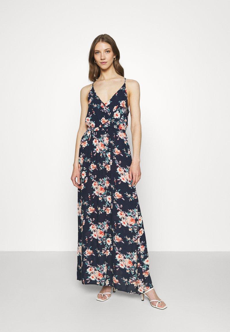 Vila - VIMESA WRAP DRESS - Maxi dress - navy blazer