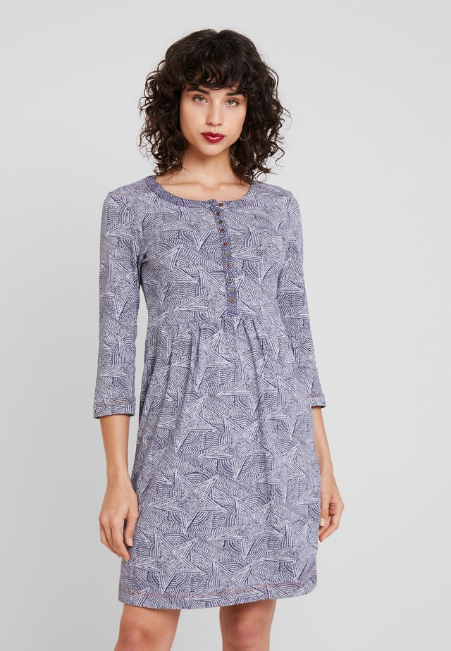 STITCH DRESS - Korte jurk - blue