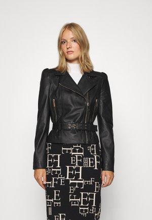 Leather jacket - nero