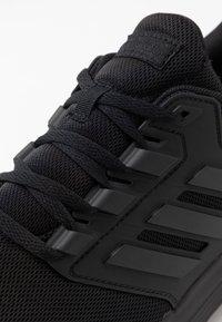 adidas Performance - GALAXY 4 - Neutrale løbesko - core black/footwear white - 5