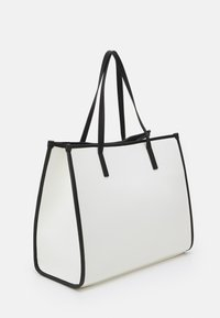 River Island - PADDED EMBROIDERED - Tote bag - white - 1