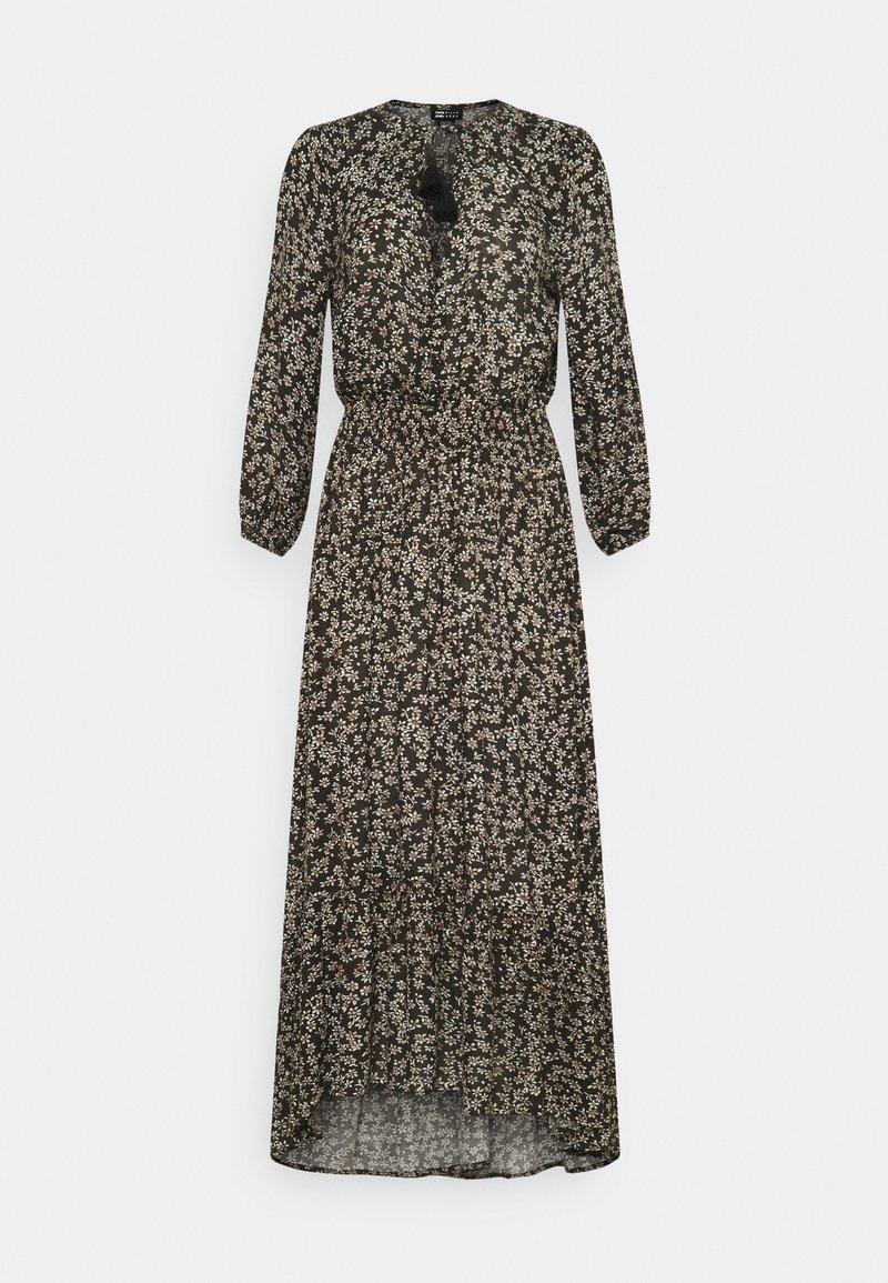 Billabong - GOOD VIBRATIONS - Długa sukienka - off black