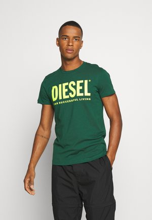 DIEGO LOGO - T-shirt con stampa - green