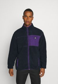 Dickies - CHUTE - Fleecejakker - dark navy/lilac - 0
