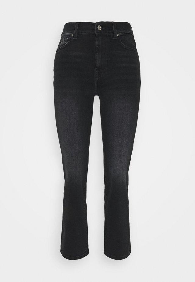 THE STRAIGHT CROP SOHO - Jeans Straight Leg - black