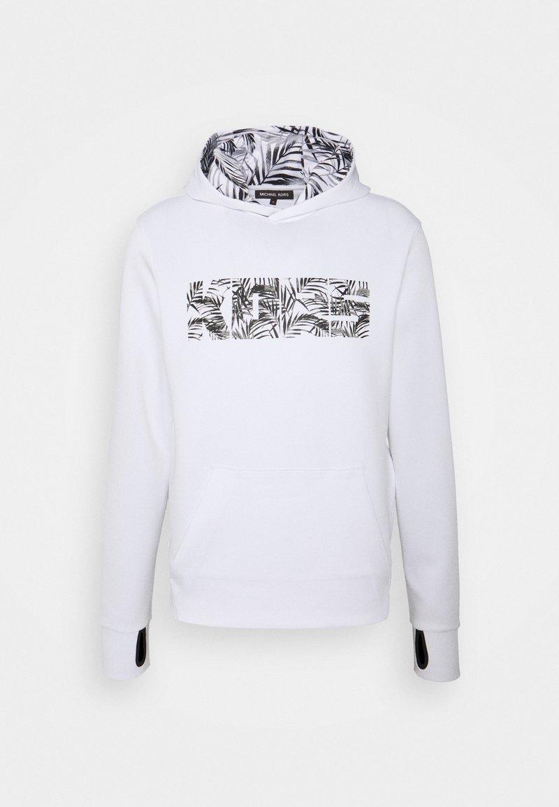Michael Kors - LEAF HOODIE - Sweatshirt - white