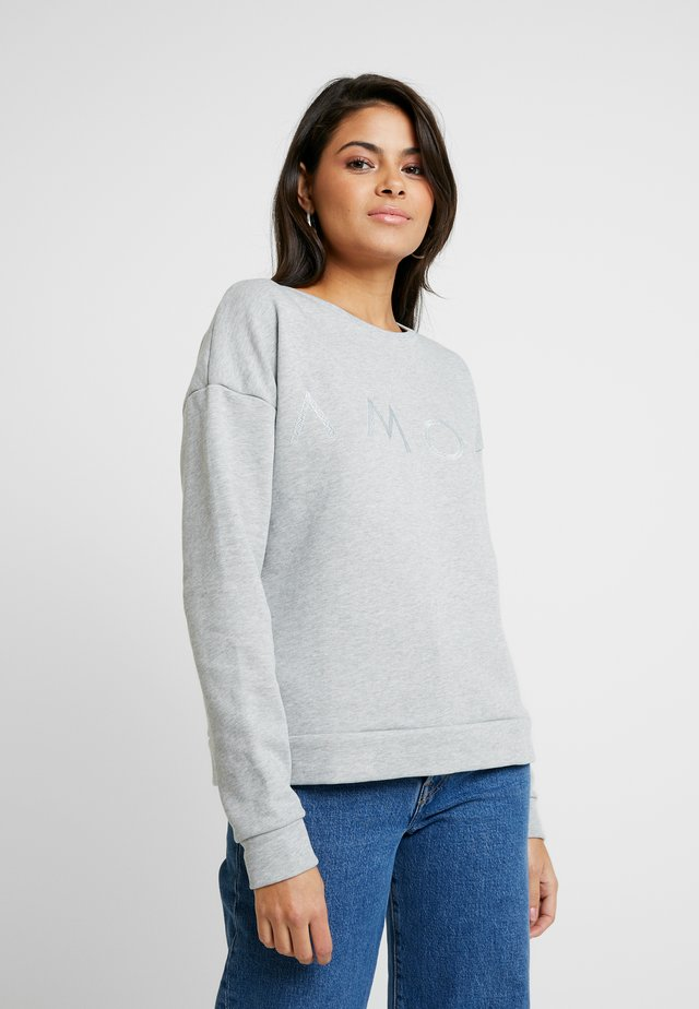 ASTRID - Sweater - light grey melange