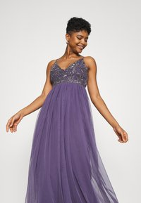Lace & Beads - LEXI  - Occasion wear - mulled grape - 3