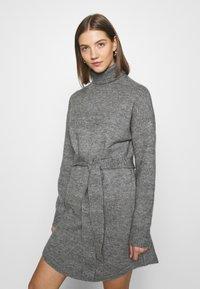 Even&Odd - Abito in maglia - mid grey melange - 3