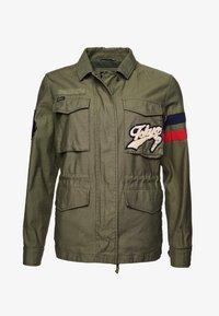 Superdry - VARSITY ROOKIE  - Summer jacket - khaki - 3