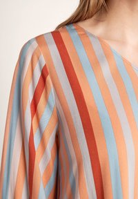 comma - Day dress - terracotta stripes - 6