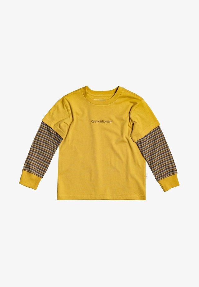MIT DOPPELTEN ÄRMELN - Long sleeved top - honey