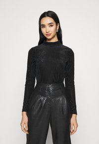 Monki - PIRA - Långärmad tröja - black - 0