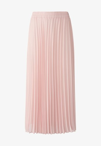 Pleated skirt - puderrosa