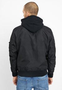 Alpha Industries - HOOD - Bomber Jacket - black - 2