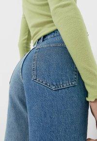 Stradivarius - Straight leg jeans - blue - 3