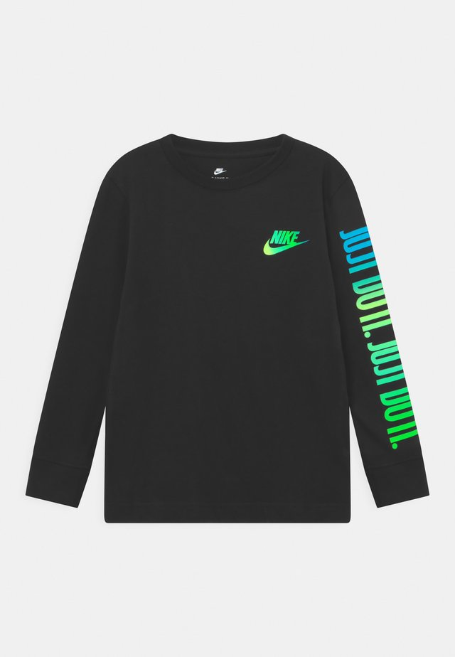 JUST DO IT - Long sleeved top - black