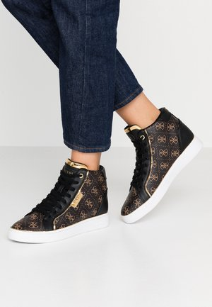 BRINA - High-top trainers - bronze/black