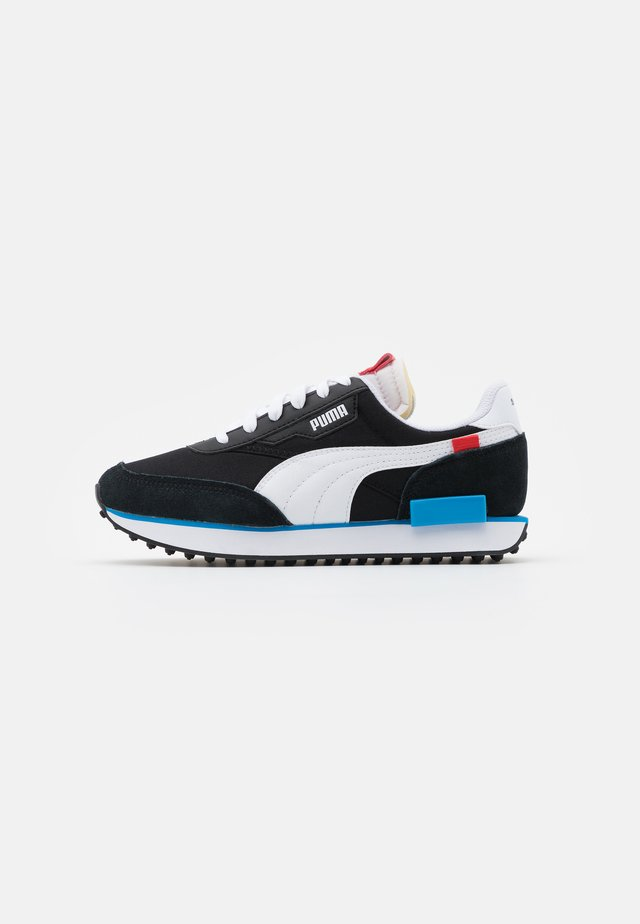 FUTURE RIDER PLAY ON UNISEX - Zapatillas - black/white/ibiza blue