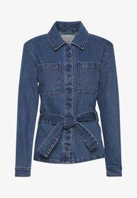 ICHI - IHNICOLE  - Denim jacket - medium blue - 4