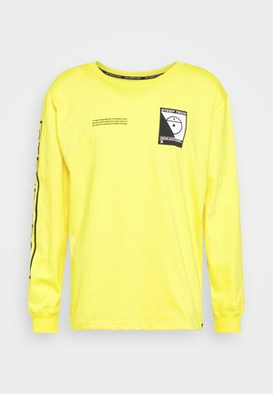 STEEP TECH TEE UNISEX - T-shirt à manches longues - lightning yellow