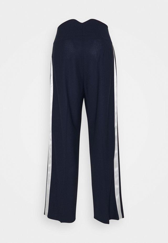 WOMENS TROUSERS - Kalhoty - blue