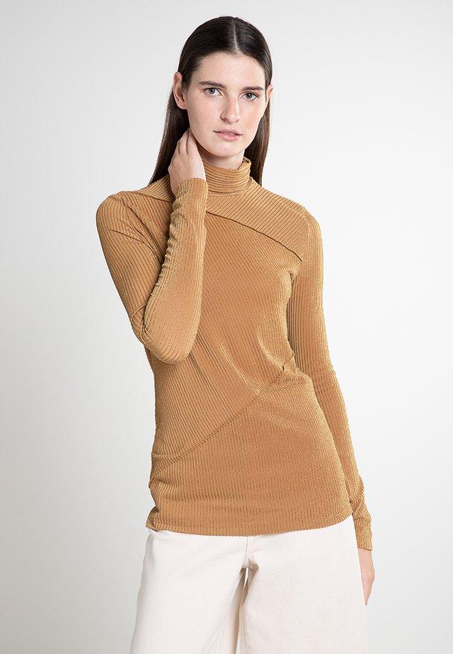 PESPA - Long sleeved top - yellow