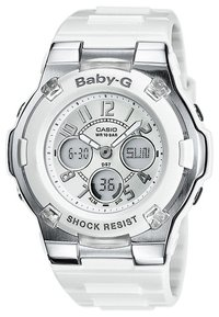 Casio - BABY-G - Chronograph watch - weiß - 0
