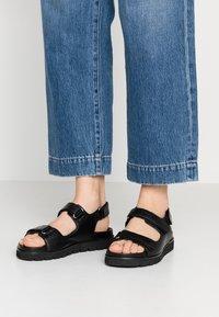 Office - SAXON - Sandals - black - 0