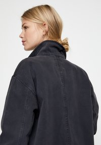 PULL&BEAR - Denim jacket - dark grey - 3