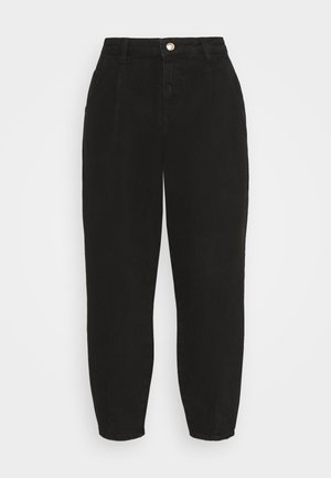 ONLVERNA BALLOON - Relaxed fit jeans - black