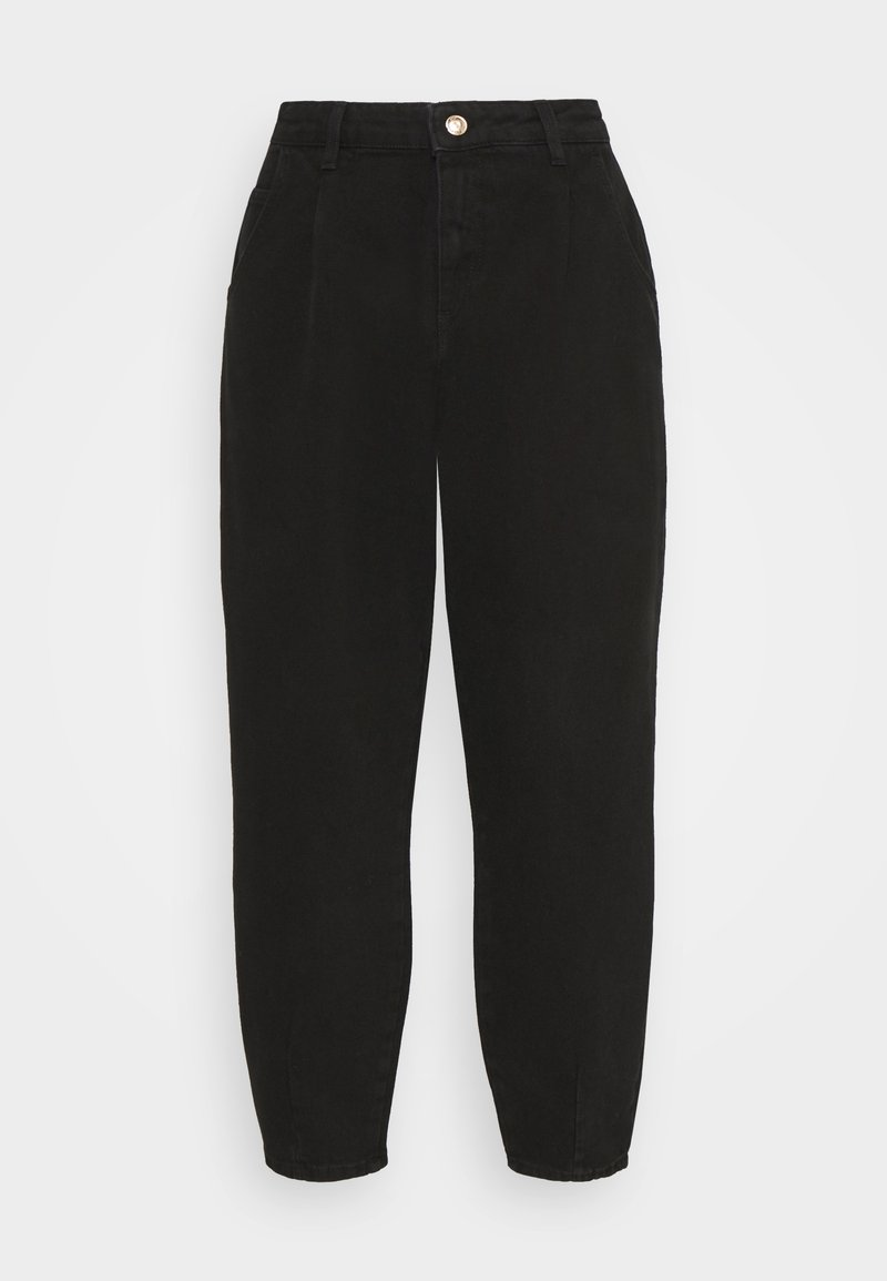 ONLY - ONLVERNA BALLOON - Relaxed fit -farkut - black