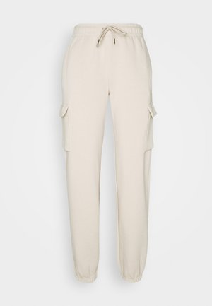 CARGO PANT LOOSE - Pantalon de survêtement - oatmeal