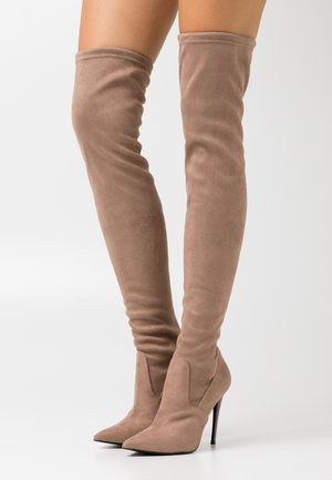 DADE - High heeled boots - taupe