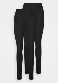 New Look - 2 PACK - Leggings - Trousers - black - 0