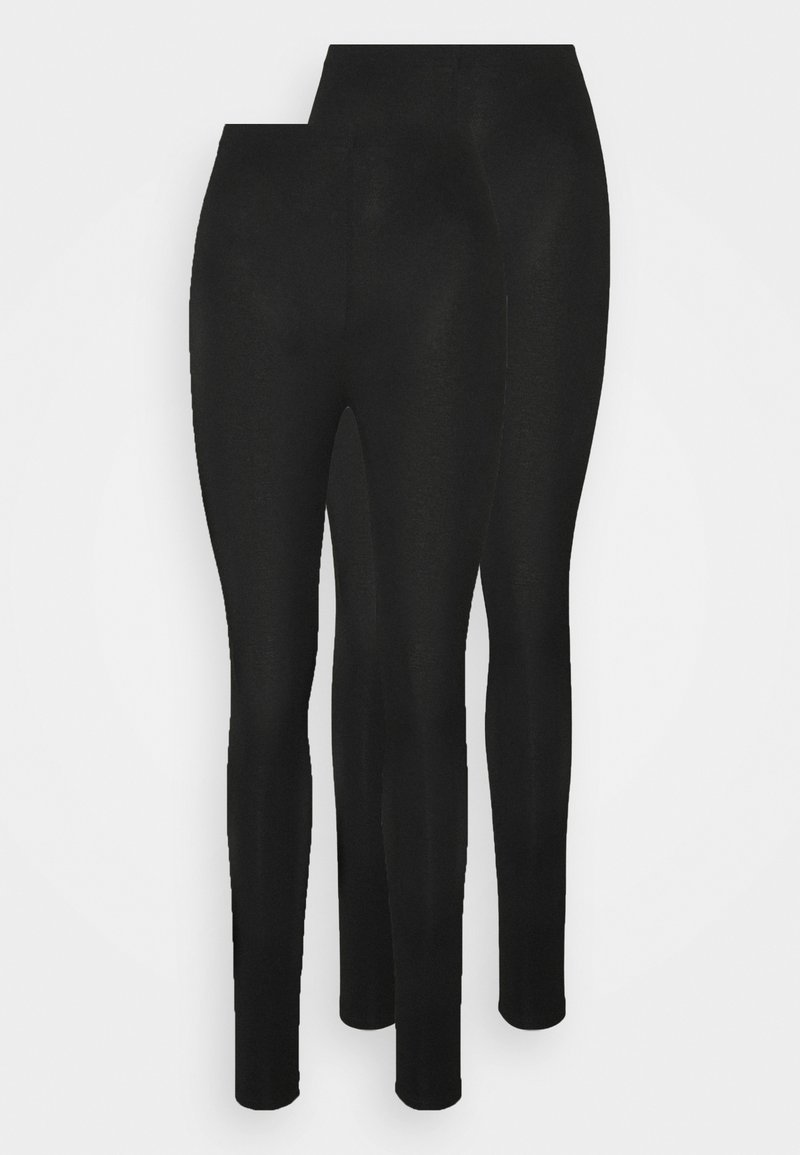 New Look - 2 PACK - Leggings - Trousers - black