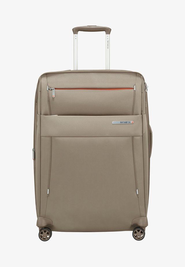 DUOPACK TROLLEY - Wheeled suitcase - sand