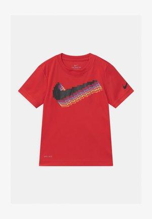 PIXEL - Camiseta estampada - university red