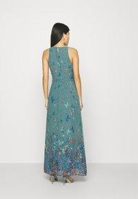 Esprit Collection - PRINT FLOWER - Maksimekko - dark turquoise - 2