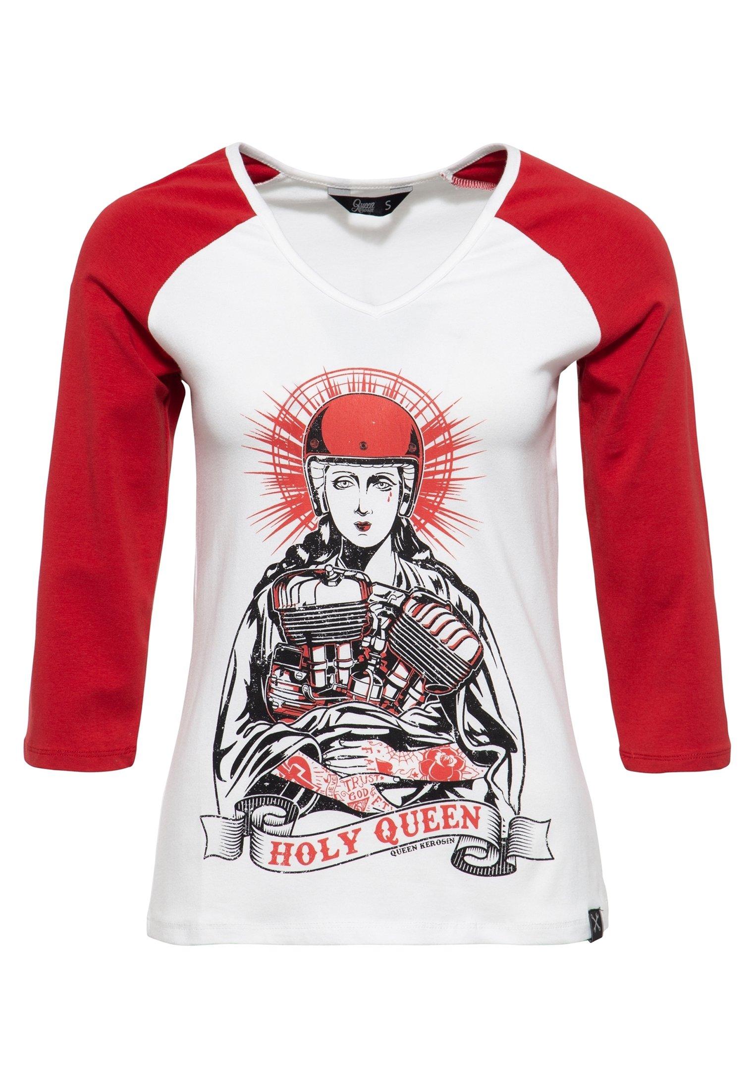 Femme MIT FRONTPRIN - T-shirt à manches longues