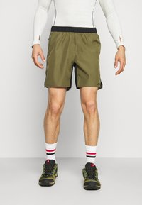 adidas Performance - TRAIL - Outdoor shorts - focus olive - 0