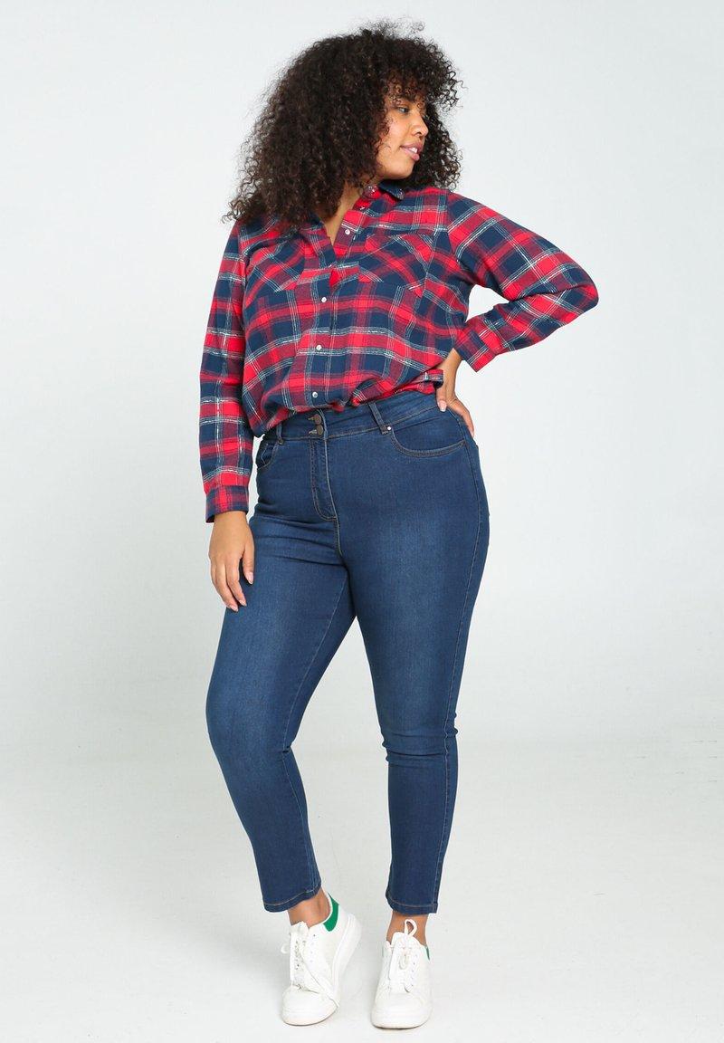 Paprika - Button-down blouse - red