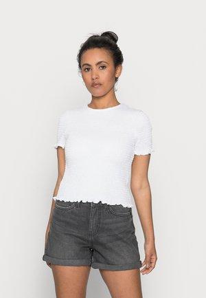 ONLDELI LIFE - Print T-shirt - bright white
