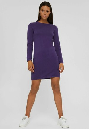 BASIC AUS - Robe fourreau - dark purple