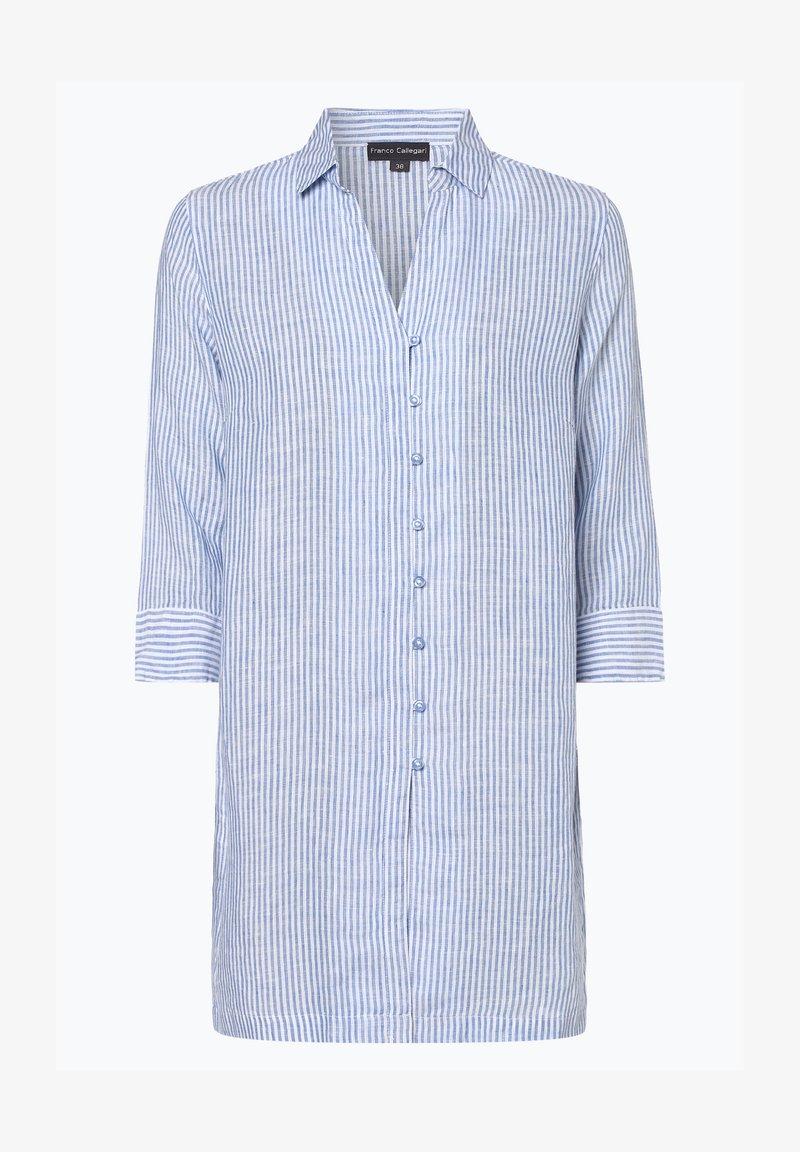 Franco Callegari - Button-down blouse - hellblau
