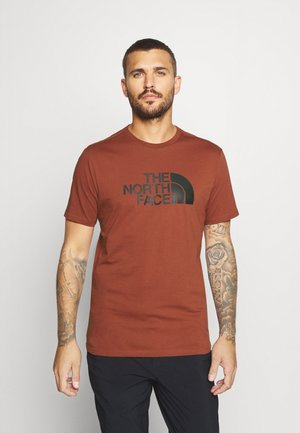EASY TEE - Print T-shirt - brandy brown